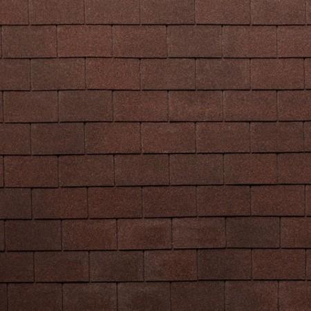 Гибкая черепица Tegola Лофт Красно-коричневый - фото