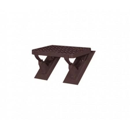 Комплект безопасной подножки 41х25 см Braas Изумруд - фото #1