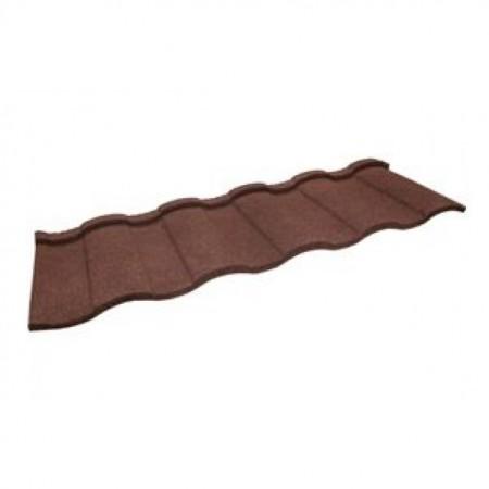 Композитная черепица Гранд Лайн Barcelona Шоколад - фото